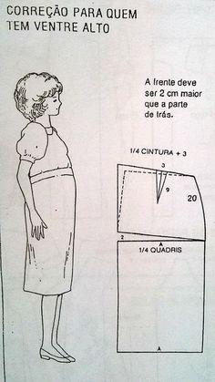 Women S Plus Size Dresses Dillards Coat Patterns, Dress Sewing Patterns, Clothing Patterns, Pattern Drafting Tutorials, Sewing Tutorials, Costura Fashion, Plus Size Summer Fashion, Sewing Alterations, Sewing Studio