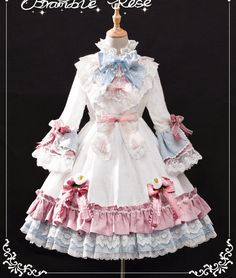 UPDATE: Bramble Rose 【-Angel-】 Classic Lolita OP Dress #Leftovers