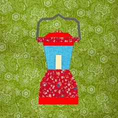 camping quilt patterns   Camping Lantern ... by Cyrille   Quilting Pattern