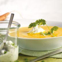 Karottensuppe mit Petersiliencreme (1 PP)