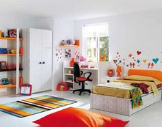 White Bedroom Design for Kids: White Bedroom Design for Kids