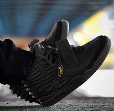 1837415f53e Custom Yeezy 2: Blackout Black Yeezys, Sneaker Boutique, Sneakers Fashion,  Sneakers Style