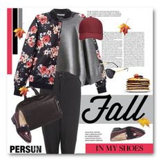 """""""PERSUN"""" by svijetlana ❤ liked on Polyvore featuring moda, T By Alexander Wang, BCBGeneration e Whistles"""
