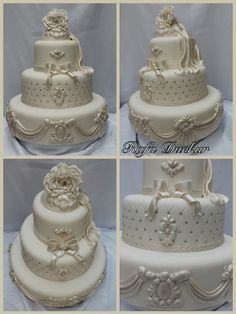 My wedding cake  Follow me on face: http://www.facebook.com/pages/JFP-Just-For-Party/100581910134424