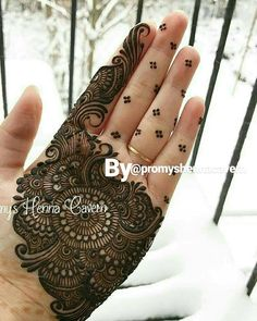 No photo description available. Mehndi Designs Book, Simple Arabic Mehndi Designs, Mehndi Designs For Girls, Mehndi Designs For Beginners, Stylish Mehndi Designs, Dulhan Mehndi Designs, Mehndi Designs For Fingers, Mehndi Design Photos, Wedding Mehndi Designs
