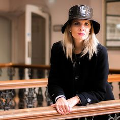 7ec0bf164 #burberry black coat and #zara hat- perfect combo for an autumn weekend in