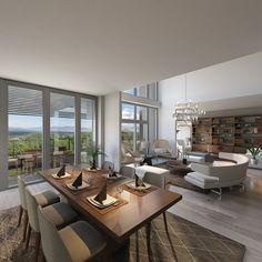 Architecture | Interior Design | Diningroom, Livingroom.