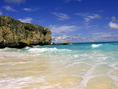 Barbados, Place of my fathers birth, sweetest flying fish and saltiest sea  water in the Caribbean.
