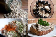 Kuchařka ze Svatojánu: KROUPOVÁ POMAZÁNKA Tempeh, Pickles, Oatmeal, Breakfast, Recipes, Food, Meal, Eten, Recipies