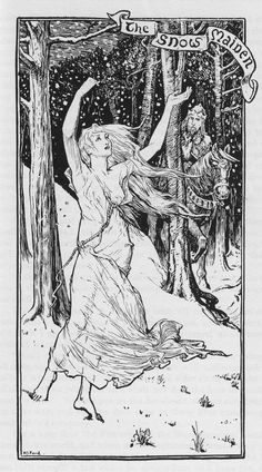 The Snow Maiden - The Yellow Fairy Book by Andrew Lang, 1894