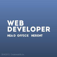 Vacature Web Developer bij Head Office te Herent in België | Creativeskills.be