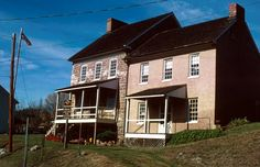 National Register Listings in Maryland- Michael Cresap House, Allegheny County