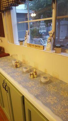 Snowman kitchen