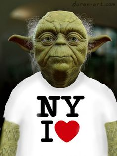 Click through to read article (I pinned this for the article not the Yoda image) Art Emerges After the Storm [Hurricane Sandy] Has Passed Art Emerges After the Storm Has Passed Nerd Love, I Love Ny, I Love To Laugh, Funny Cute, The Funny, Hilarious, Starwars, Star Wars Art, Yorkie