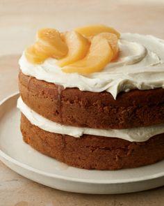 Pumpkin Layer Cake {marthastewart.com}