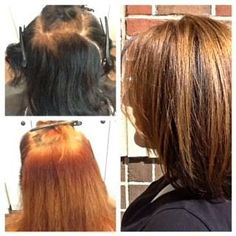 Come see us to create this look at Revival Hair Lounge, Charlotte NC. By Sonya