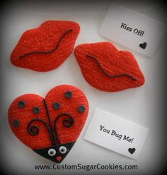 Anti-Valentine Cookies!