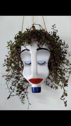 Checkout This Planter Made From A Milk Container...