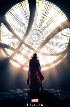 Marvel has unveiled a poster for Doctor Strange, featuring our first look at the Sanctum Sanctorum. The artwork features Benedict Cumberbatch (Sherlock) as the title character in the film in the Marvel Cinematic Universe, which finished filming in Ne Marvel Comics, Marvel Fanart, Films Marvel, Marvel Characters, Marvel Heroes, Marvel Dc, Poster Marvel, Marvel Order, Mundo Marvel