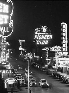 Early Days Downtown Las Vegas  www.all-chips.com has chips for sale from all these casinos.