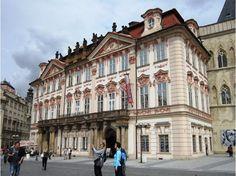 Kinsky Palace on Prague's Old-Town Square.