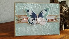 watercolor wings, soft sky, stampin up, kaart, embossing, gold, crumb cake, night of navy