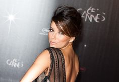 Eva Longoria French Twist- This is exactly how I want my hair done for the wedding. :)