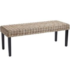 This sleek silhouetted and hand-woven bench can add a natural texture to the room with its combination of rattan and wood. Talk about getting back to nature. Now you just have to decide, put it at the end of the bed or in the front hall...
