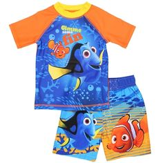 FREE SHIPPING on all orders! #Disney #Pixar #FindingDory #Swimwear #SwimSet
