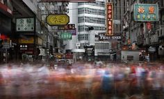 Brian Yen used long exposure techniques to captures the hustle and bustle of downtown Hong Kong! Long Exposure Photographs Recreate the Motion of Downtown Hong Kong Motion Blur Photography, Shadow Photography, Photography Themes, Urban Photography, Exposure Photography, Hong Kong, Urban Ideas, Urban Life, Long Exposure