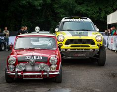 MINI Celebrates Dakar Racing at Goodwood - MotoringFile Jeremy Clarkson, Goodwood Festival, Rusty Cars, Mini Cooper S, Top Gear, Rally, Cars Motorcycles, Inventions, Cool Cars