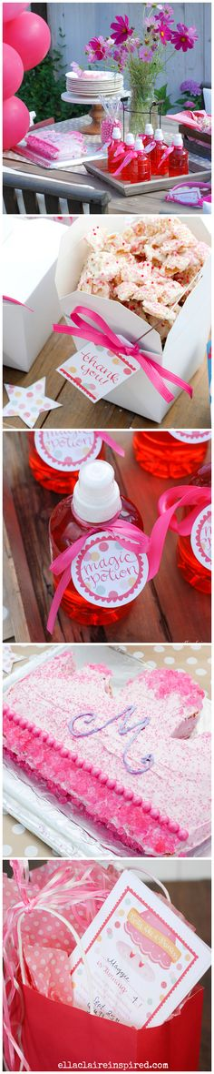 Adorable Princess Party with Free Printables! #getyourbettyon So many easy ideas.
