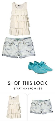 """Untitled #2720"" by ania18018970 ❤ liked on Polyvore featuring H&M and Miu Miu"