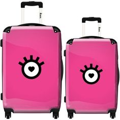 Lolita by Ikase, Multicolor 2-piece Harside Spinner Luggage Set, Multi