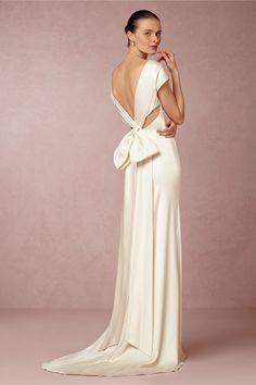 Wish Big, Win Big Giveaway from Anthropologie & BHLDN | Cassandra Wedding Gown from @BHLDN #wedding #registry
