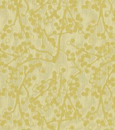 Home Decor Upholstery Fabric-Crypton Cherries-Yellow Green at Joann.com