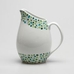 """Odon"", Stig Lindberg, Gustavsberg. Plant Painting, Drip Painting, Pottery Painting, Porcelain Ceramics, Ceramic Pottery, Pottery Art, Scandinavian Fabric, Scandinavian Home, Vintage Pottery"