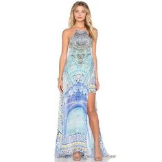 6b6dd208d17 Camilla Sultans Gate Long Sheer Overlay Dress. Size 1 to fit size 6-10 RRP   699 HIRE  140 Enquiries Contact Kylie 0421386437 . KK💋  whattowear   fashionhire ...