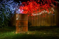 100 Smashing Examples of Light Painting Photography (Get A Break From Work Already)