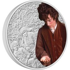 A precious reminder of the extraordinary THE LORD OF THE RINGS trilogy, each coin has a unique Certificate of Authenticity, guaranteeing the purity of the silver and the limited mintage of 3,000 coins. The certificate also includes the coin's unique serial number. The coin arrives in a display-ready, quality coin case, which is placed inside a themed box showing the full-colour version of the coin image on the base. Samwise Gamgee, Frodo Baggins, Loyal Friends, Effigy, One Ring, Queen Elizabeth Ii, Coin Collecting, Lord Of The Rings, Silver Coins