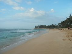 another beach in Oahu
