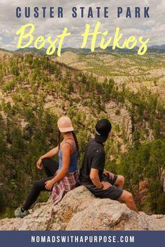 South Dakota Vacation, South Dakota Travel, Custer South Dakota, Hiking Spots, Hiking Trips, Backpacking, Badlands National Park, National Parks, Vacations In The Us