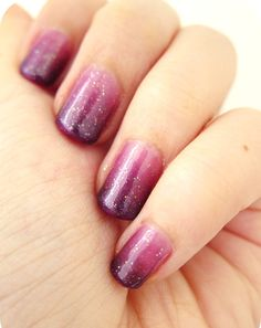 Go With The Flow You don't always have to stick with nudes and pinks. Match your nails to the colour of your wedding theme instead. For instance, if you're dressing your bridesmaids in purple and using purple ribbons, consider going for a purple gradient nail design