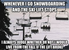 Skiers and Snowboarders thoughts....