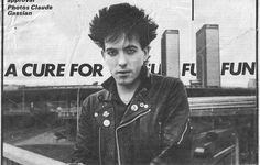 The Cure: Robert Smith by Claude Gassian, 1981
