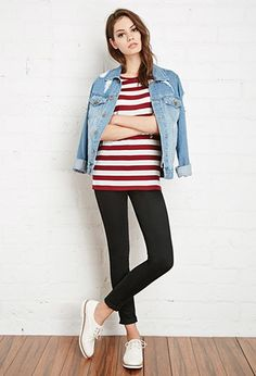 Classic Striped Tee | Forever 21 - 2000154966