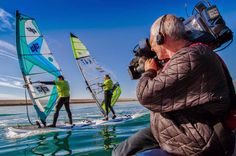 Flymount action camera mount: Weymouth Speed Trials with Zara Davis and Mike Bushell