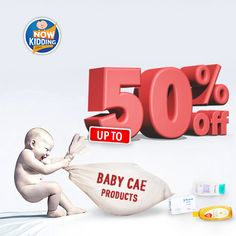 Never Before Discounts: Avail up to 50% OFF on Babycare Products. Check here: http://www.nowkidding.com