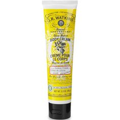 This stuff smells like freshly baked lemon cookies and makes your hands so very soft.