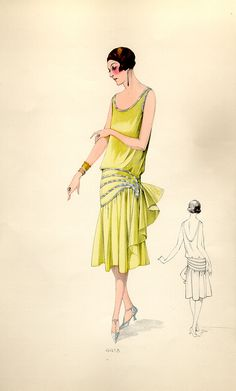 yellow lemon sparkles #flapper #roaring20s